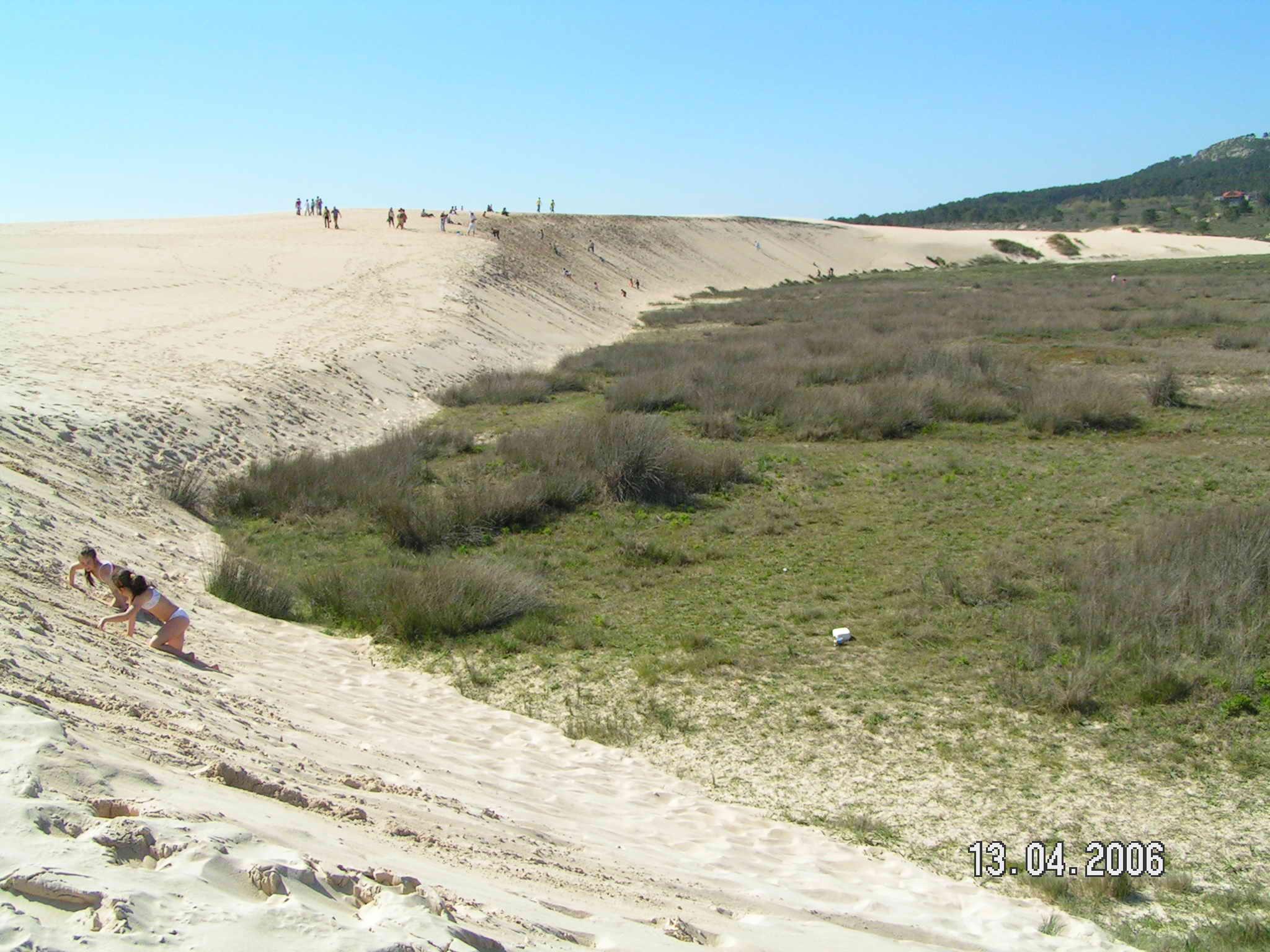 Foto playa A Ladeira / Las Dunas. Complexo dunar de Corrubedo