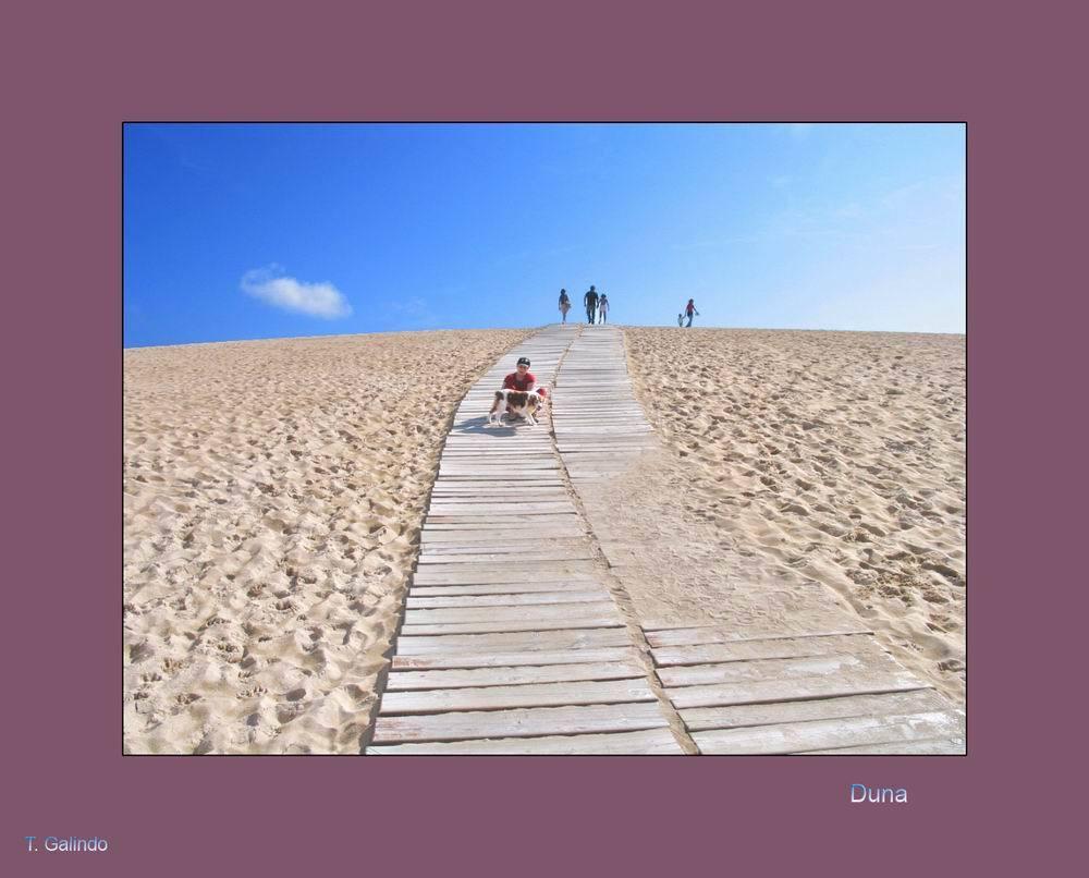 Foto playa A Ladeira / Las Dunas. duna