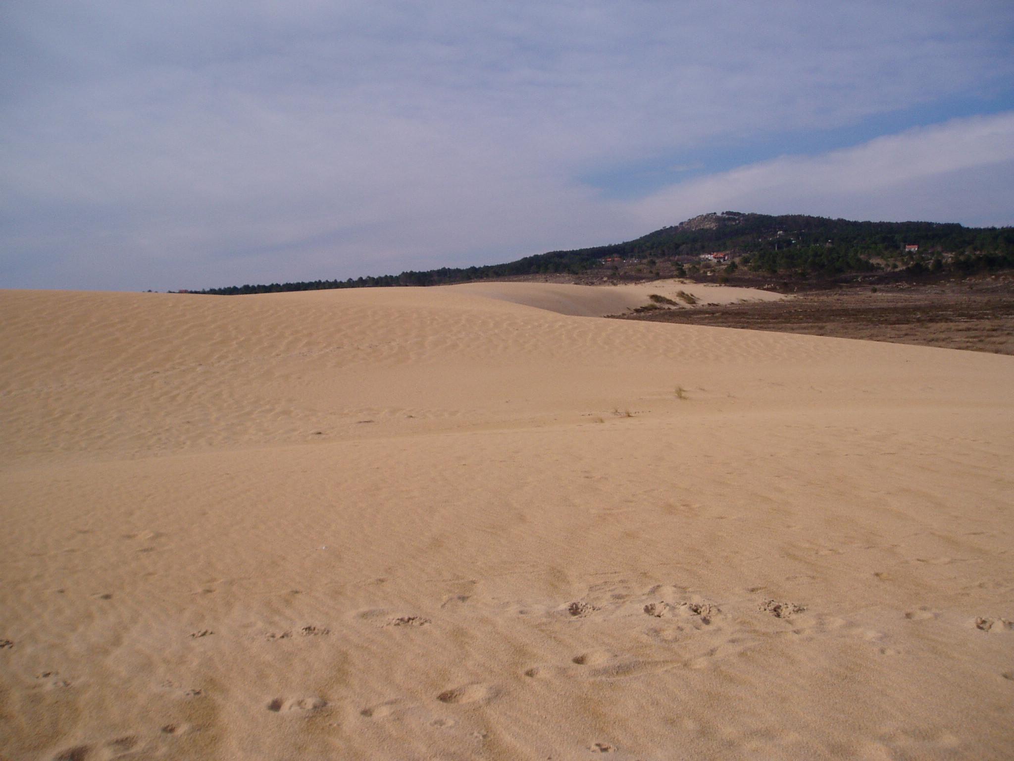 Foto playa As Furnas. Duna de Corrubedo