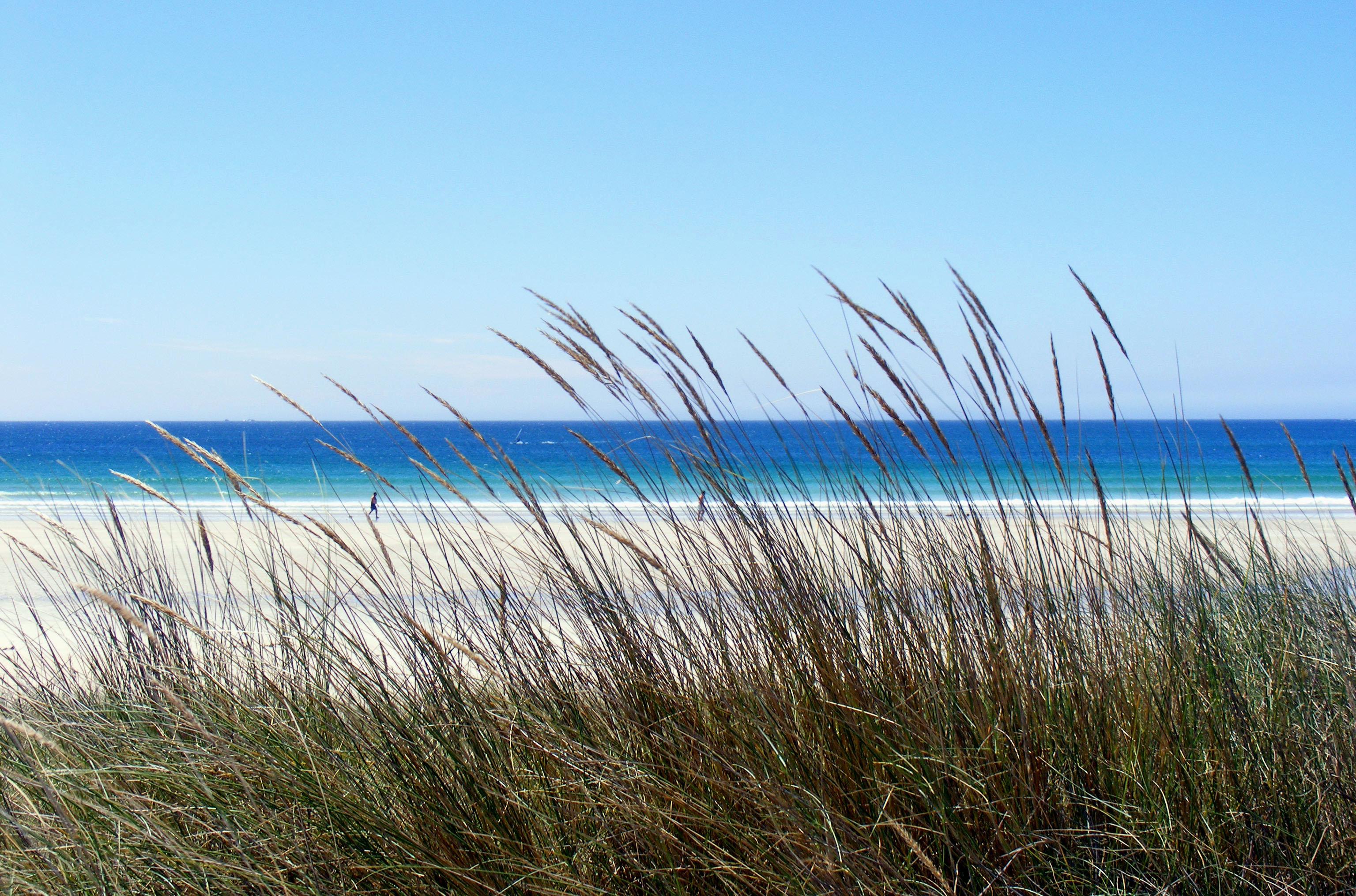 Foto playa As Furnas. praia de corrubedo