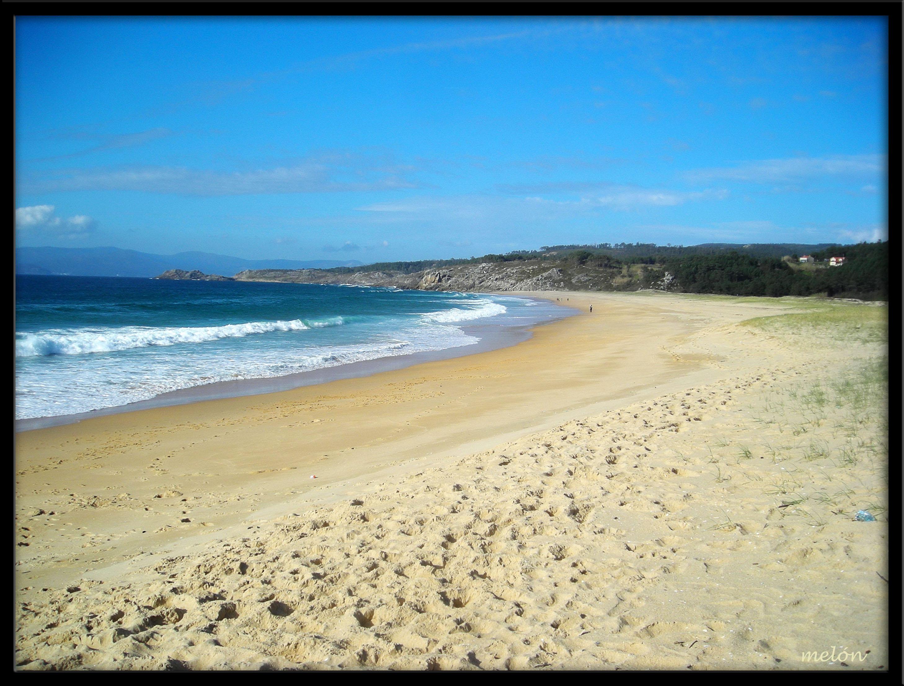 Foto playa As Seiras / Queiruga. Praia de Queiruga