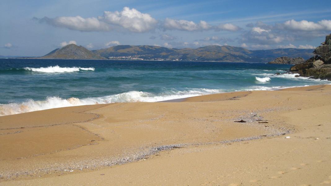 Foto playa As Seiras / Queiruga.