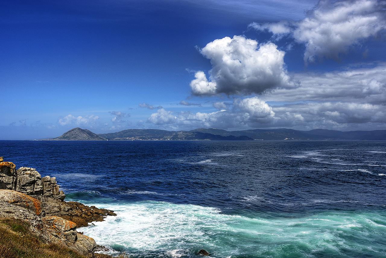 Foto playa Cabeiro / Caveiro. Pola ria de Muros-Noia