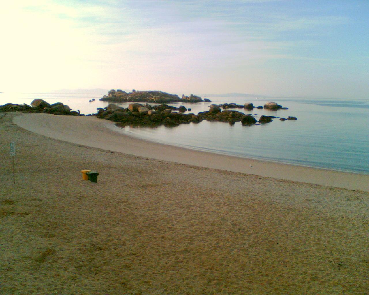 Foto playa Cabeiro / Caveiro. Praia de Caaveiro