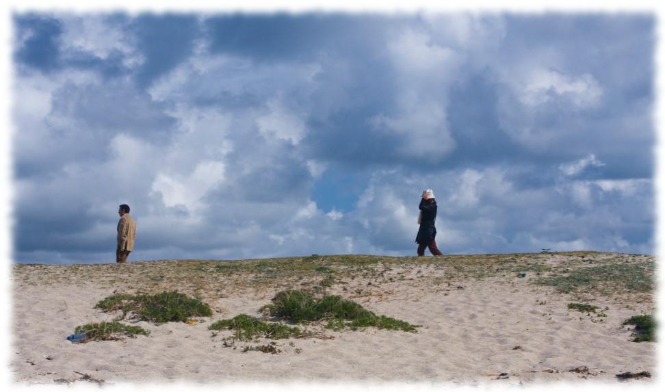 Foto playa Aguieira. Vaya par de dos