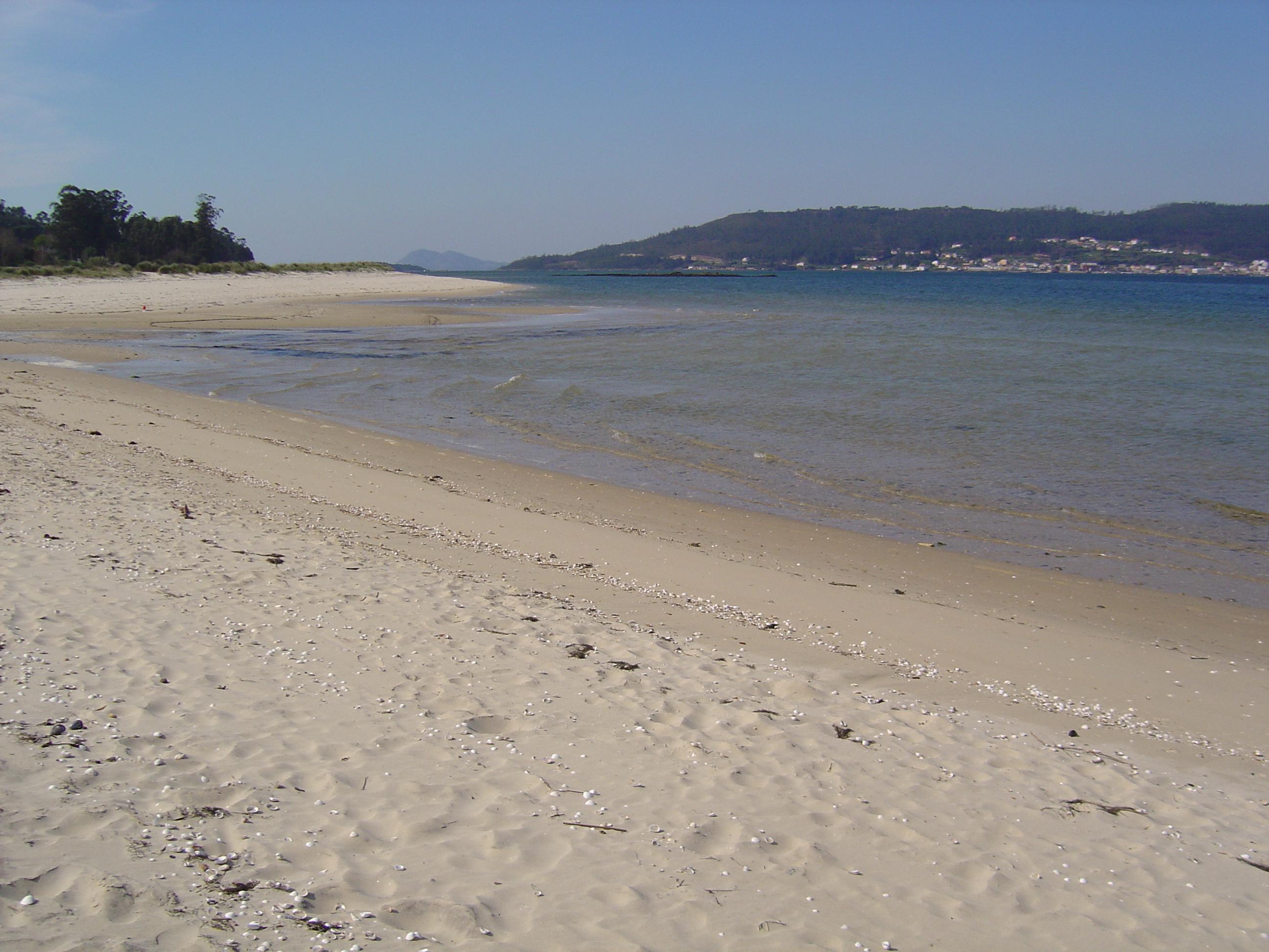 Foto playa Testal. Playa de testal Noia