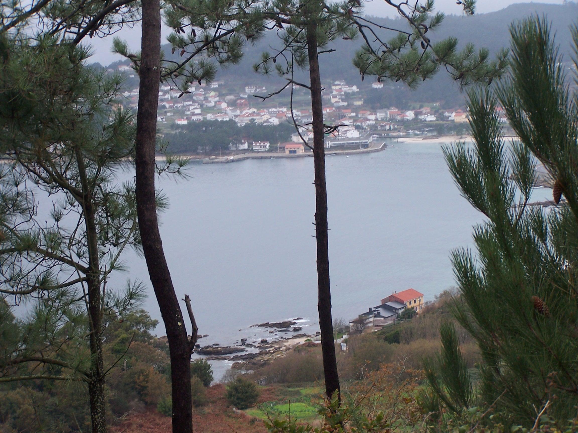 Foto playa Uhía. Agrocovo dende Uhía
