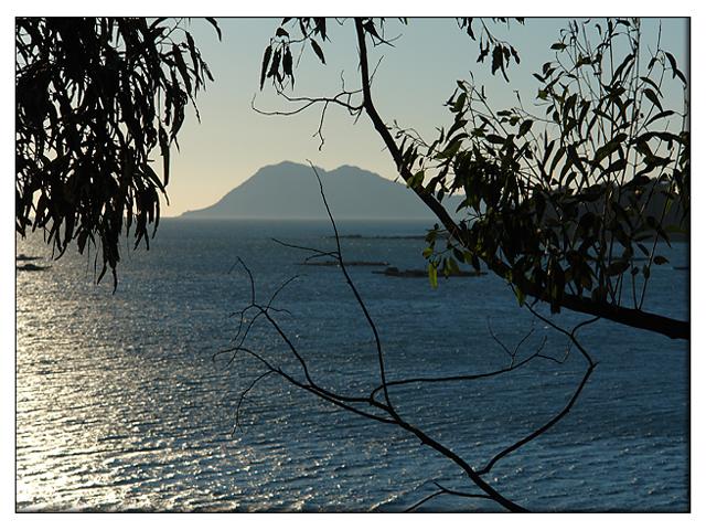 Foto playa Esteiro. Monte Louro desde Esteiro