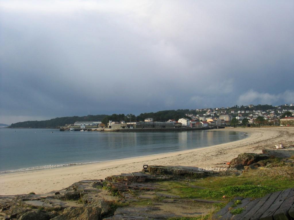 Foto playa Agracobo. praia de paramean