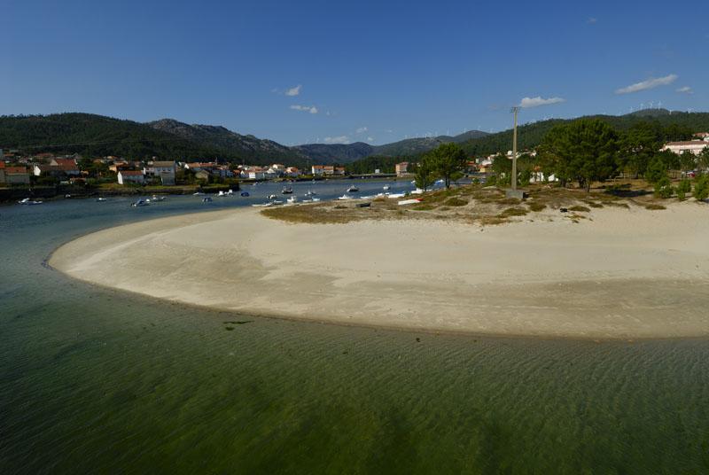 Foto playa Fontenla. Noia (comarca): El pueblo de Esteiro en la ría de Muros y Noya