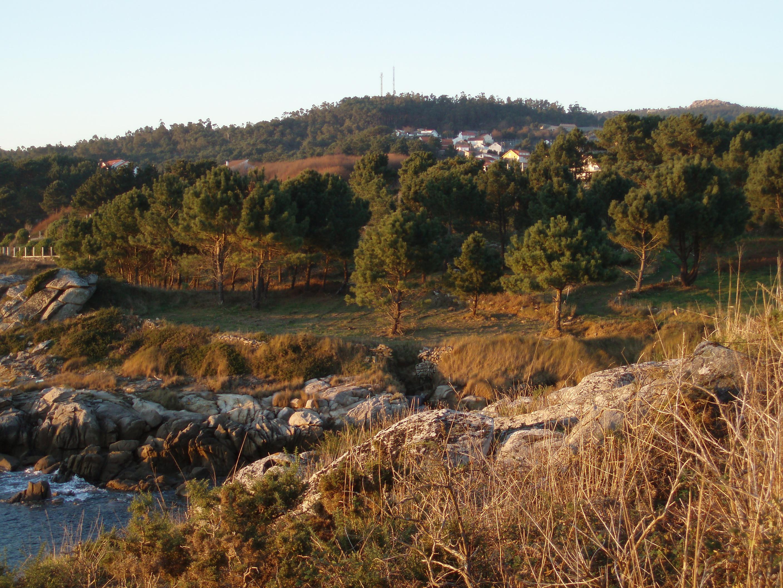 Foto playa Cabanas. Trasdacosta (desde Monte Formilla)