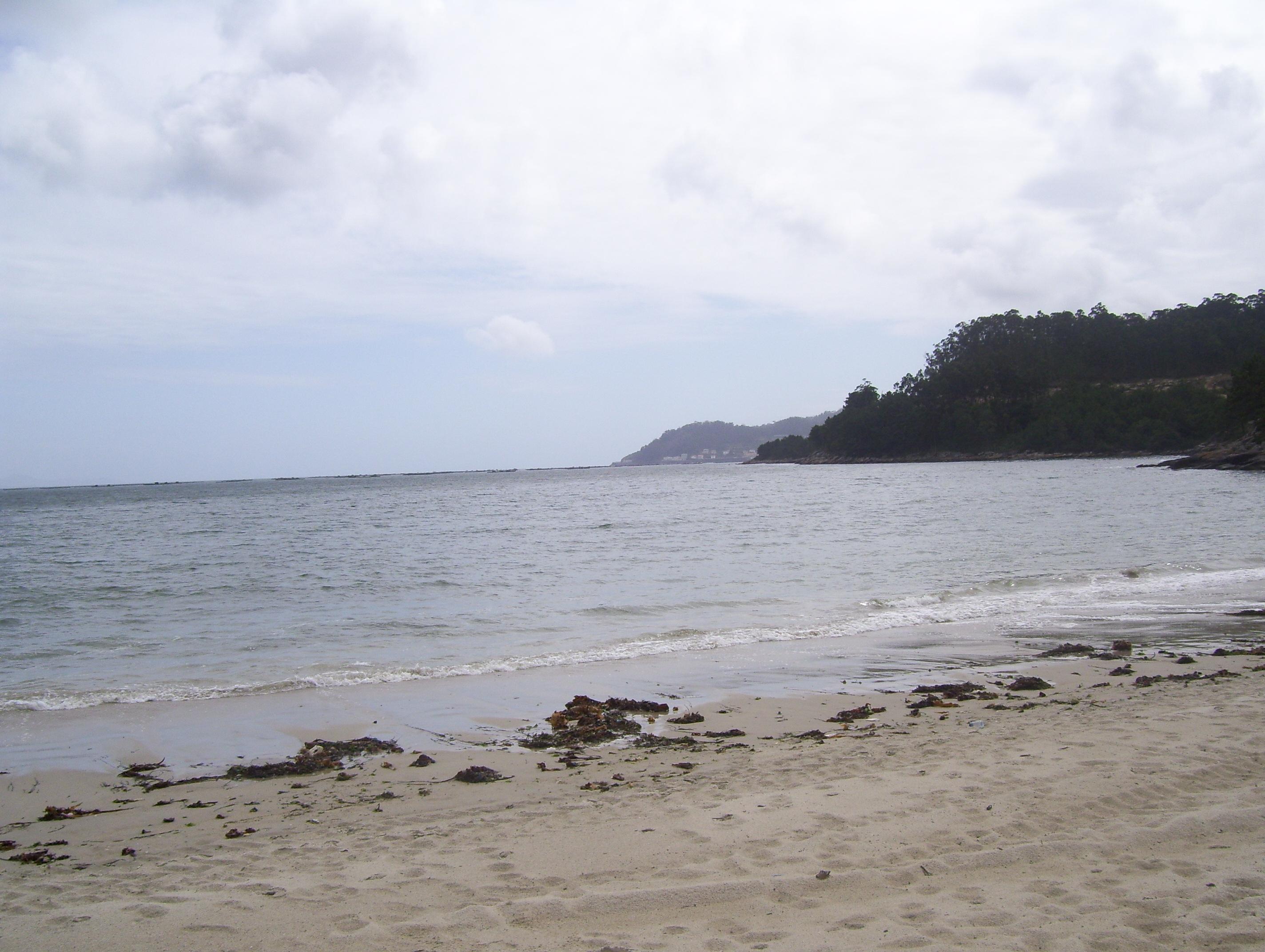 Foto playa Liñares. Beautiful beach at Abelleira