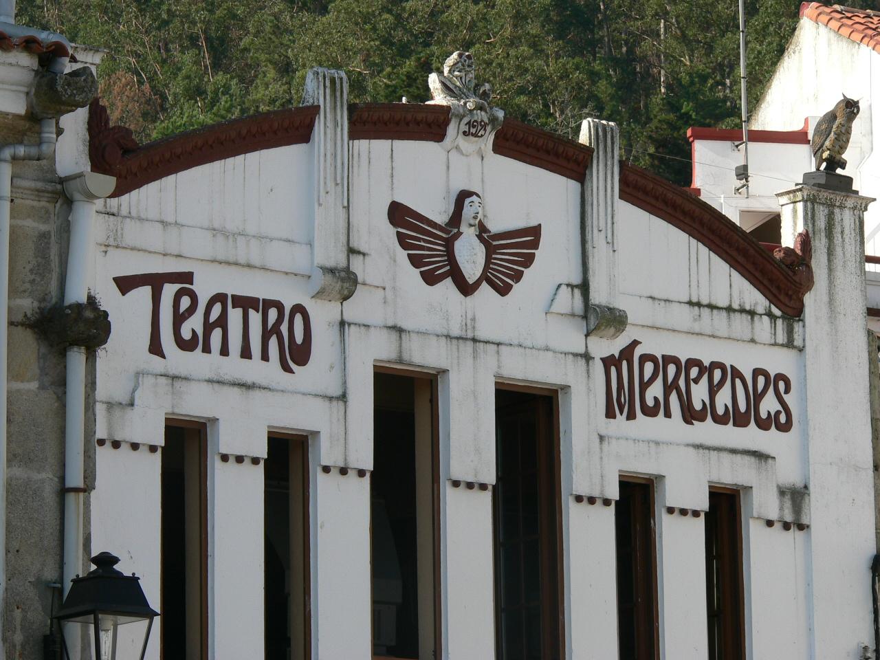 Foto playa Ventin. Mercedes Theatre in Muros