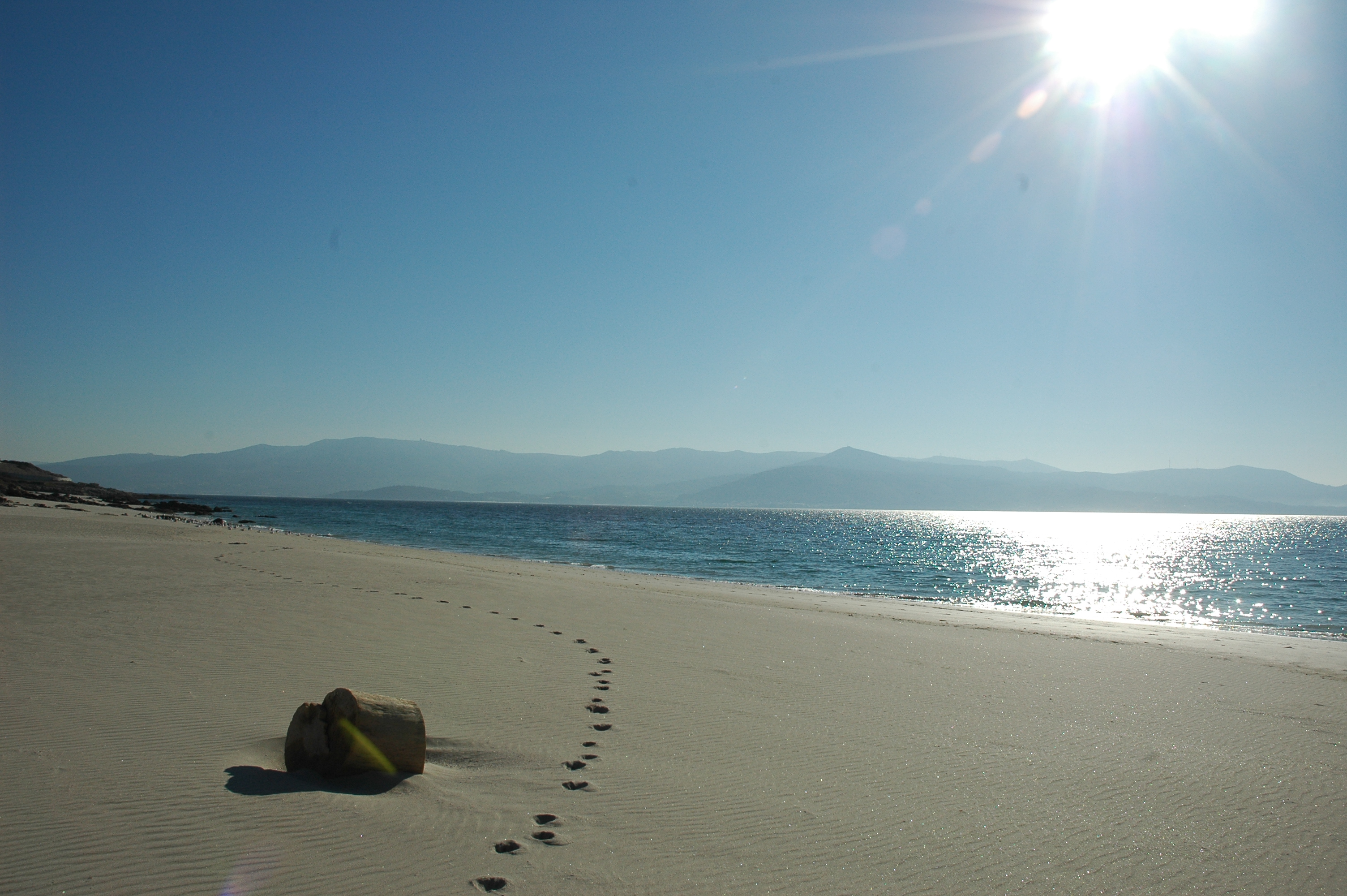 Foto playa San Francisco. praya nei pressi di Muros
