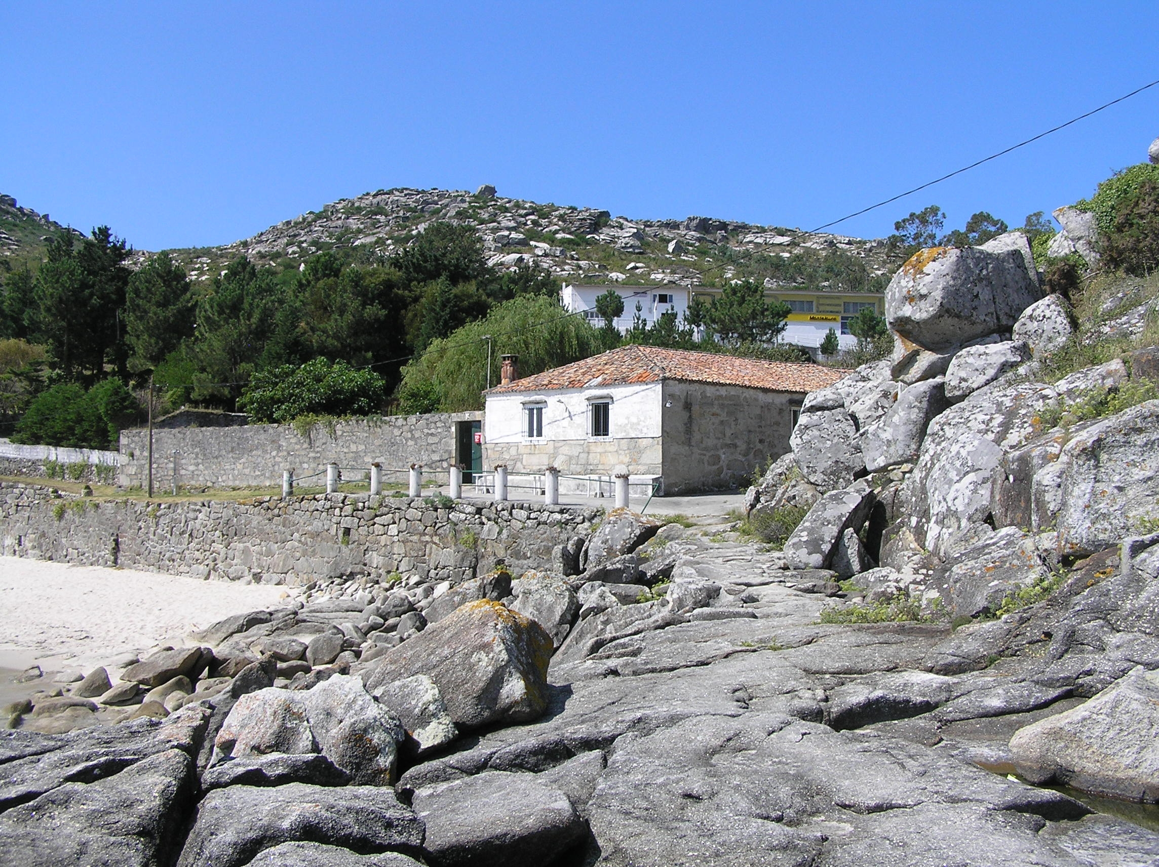 Foto playa Fogareiro.