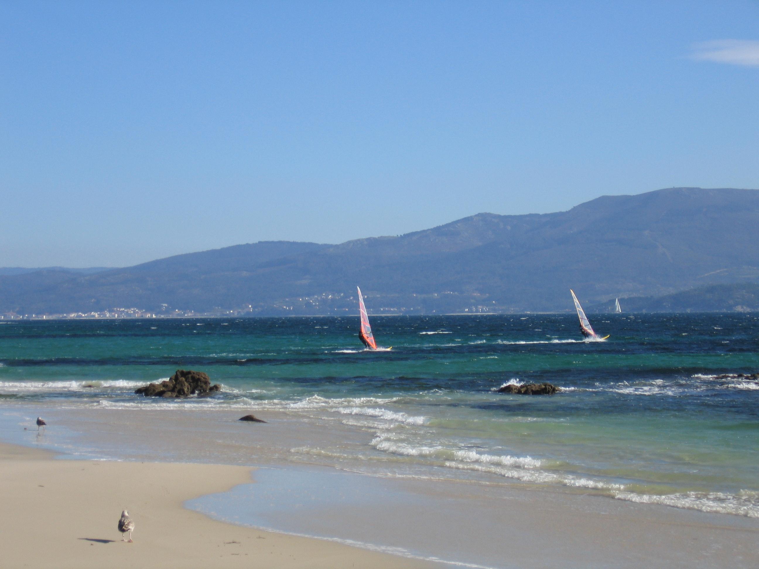 Foto playa Fogareiro. San Francisco Louro