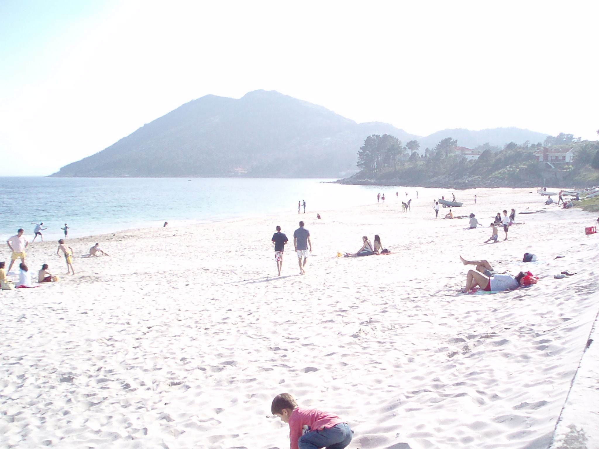 Foto playa Fogareiro. Playa de San Francisco y Monte Louro