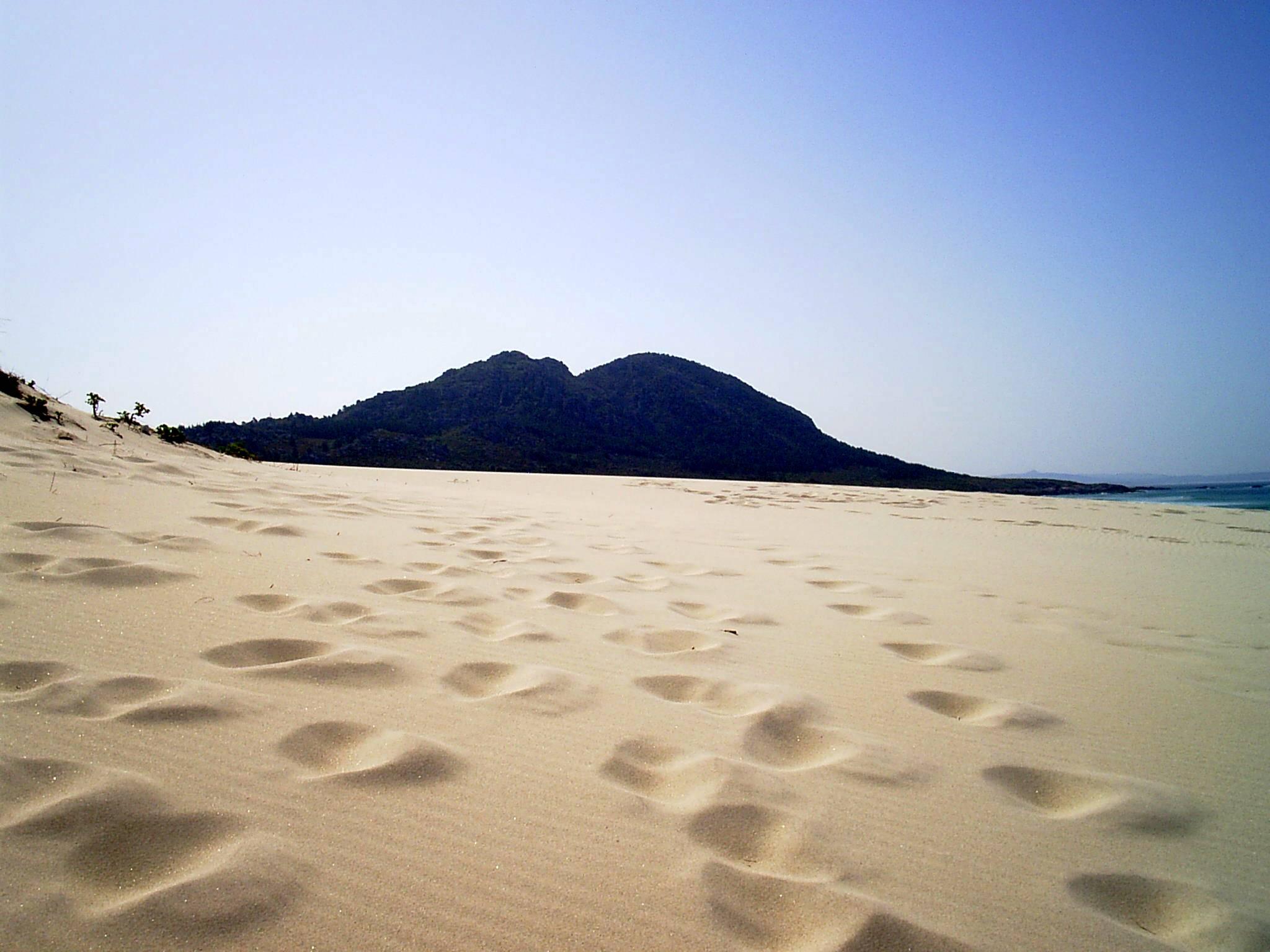 Foto playa Area Maior / Louro. montelouro