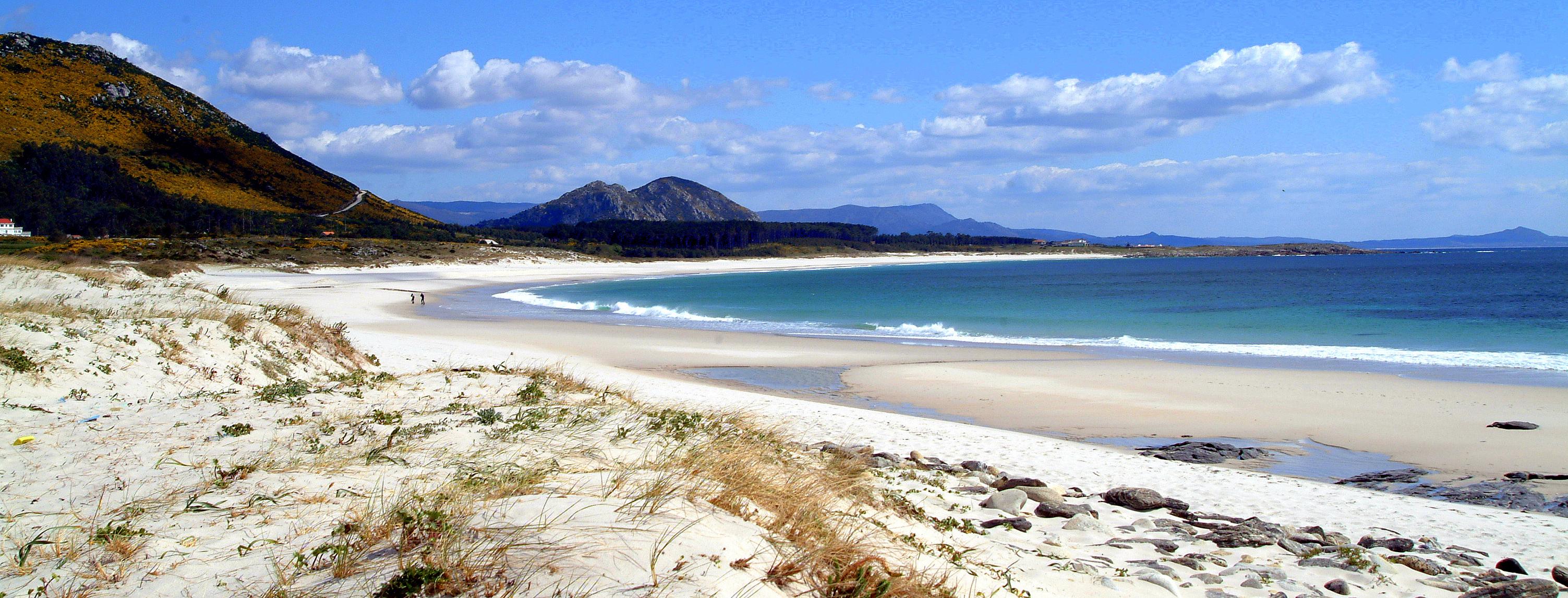 Foto playa Area Maior / Louro. Ría de Muros - Praia de Monte Louro
