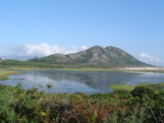 Foto playa Area Maior / Louro. xarfas