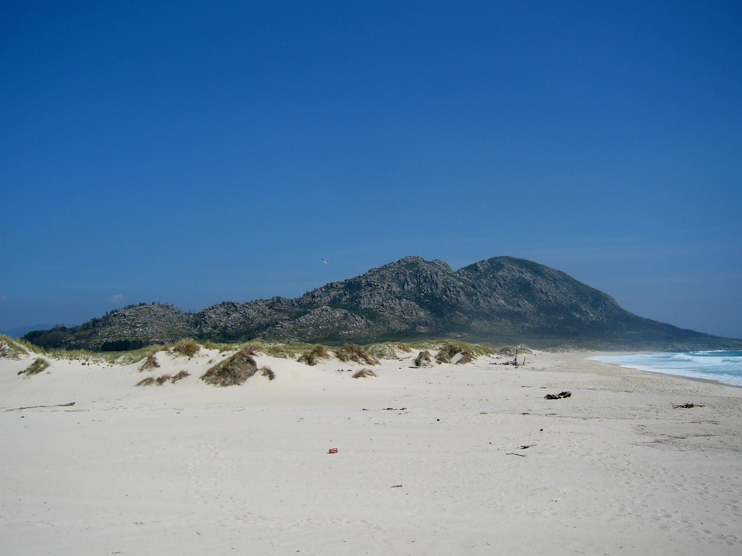 Foto playa Area Maior / Louro. Monte Louro