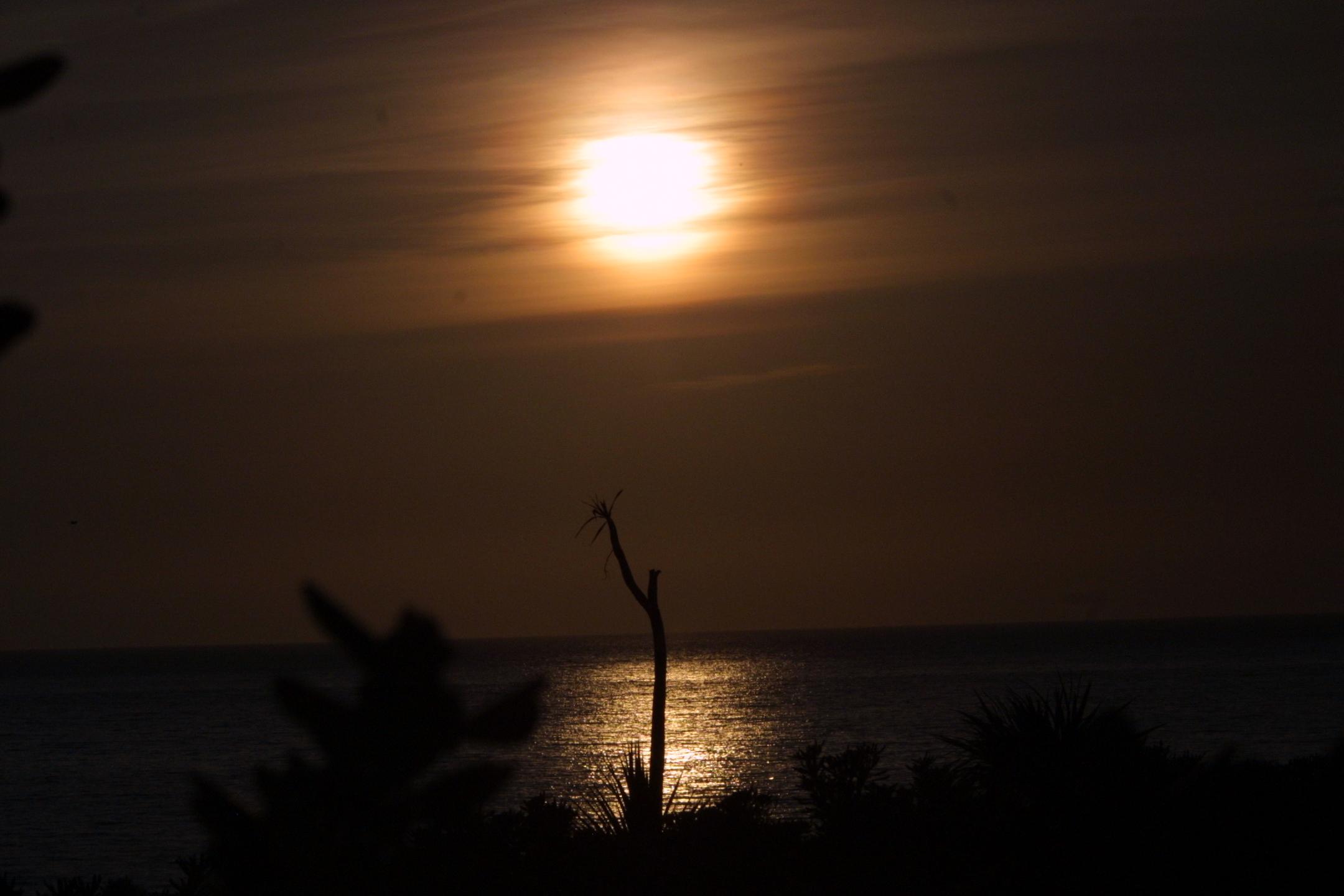 Foto playa Ancoradoiro. puesta de sol ancoradoiro