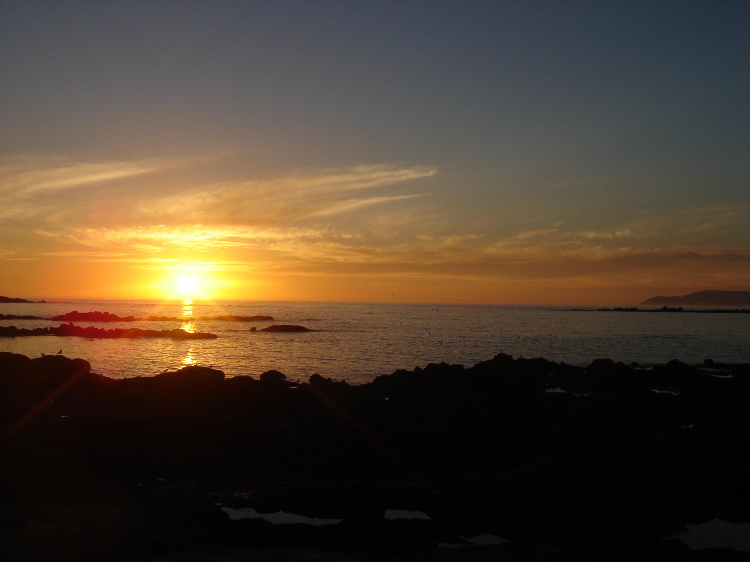 Foto playa Tras de Punta. Puesta de Sol,  A´Gavota