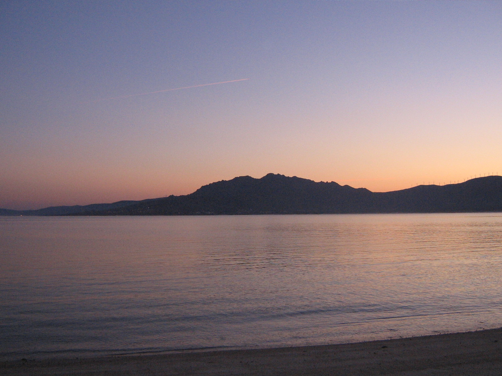 Foto playa Mar de Lira. Alborada desde a praia de Mar de Lira