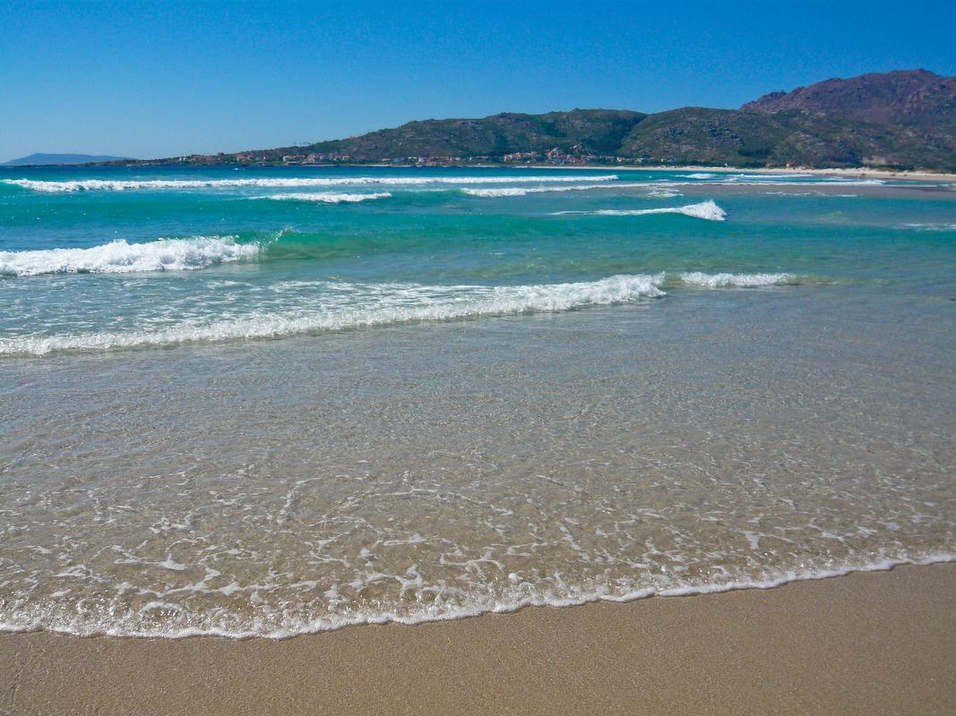 Foto playa Carnota. Praia de Carnota