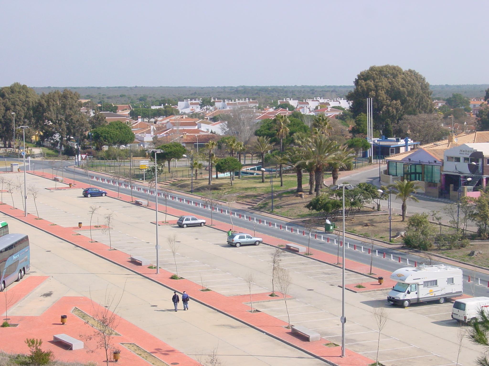 Foto playa Doñana. Matalascañas Aparcamientos - 01