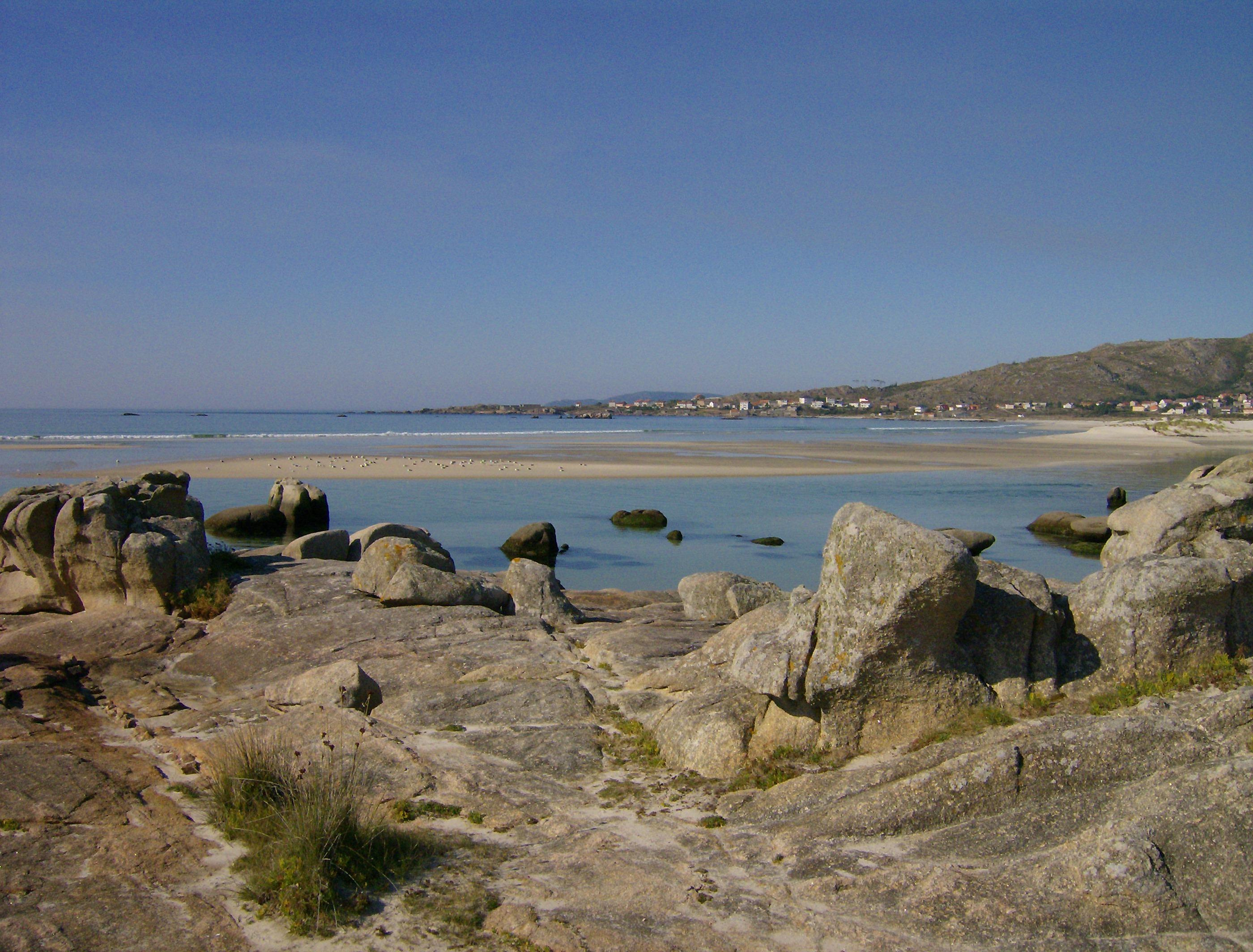 Foto playa Caldebarcos. Playa de Carnota