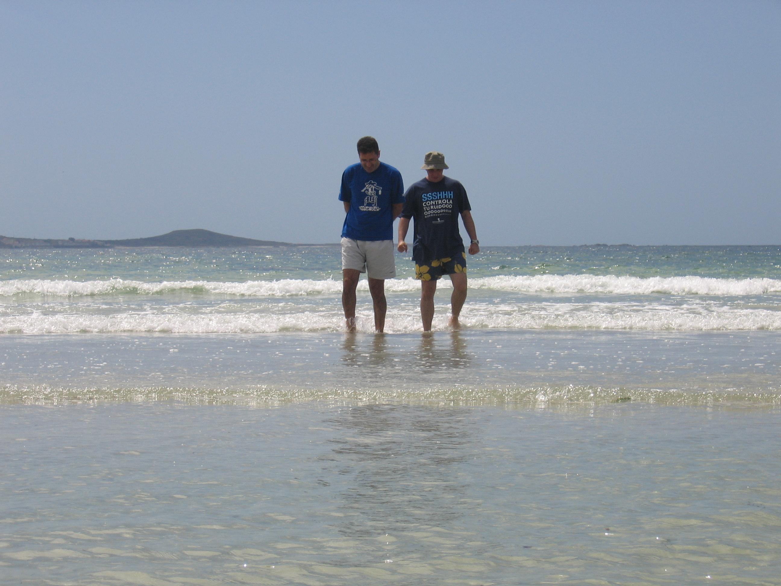 Foto playa Caldebarcos. Caldebarcos