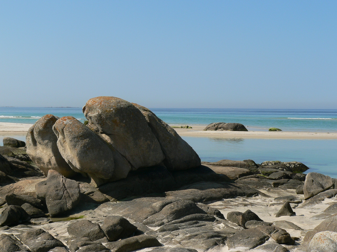Foto playa Caldebarcos. Carnota Beach