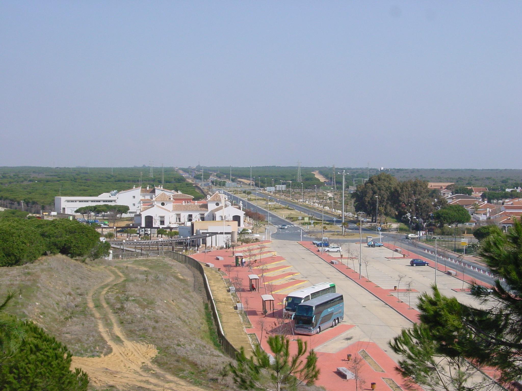 Foto playa Doñana. Matalascañas Aparcamientos - 02