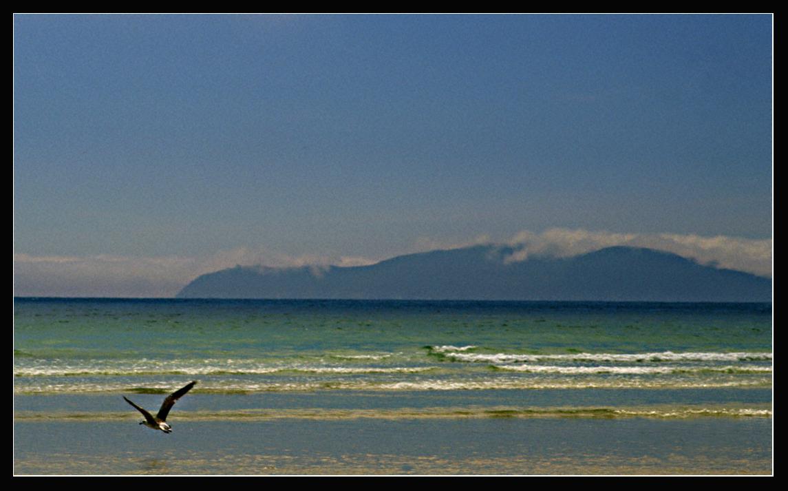 Foto playa San Pedro / Playa de O Pindo. Cabo Finisterre desde O Pindo