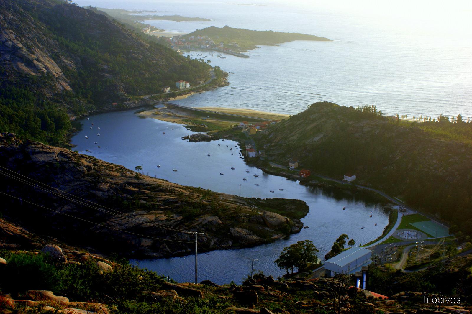 Foto playa Ézaro. Ezaro