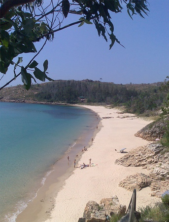 Foto playa Gures. Playa de gures (Cee)