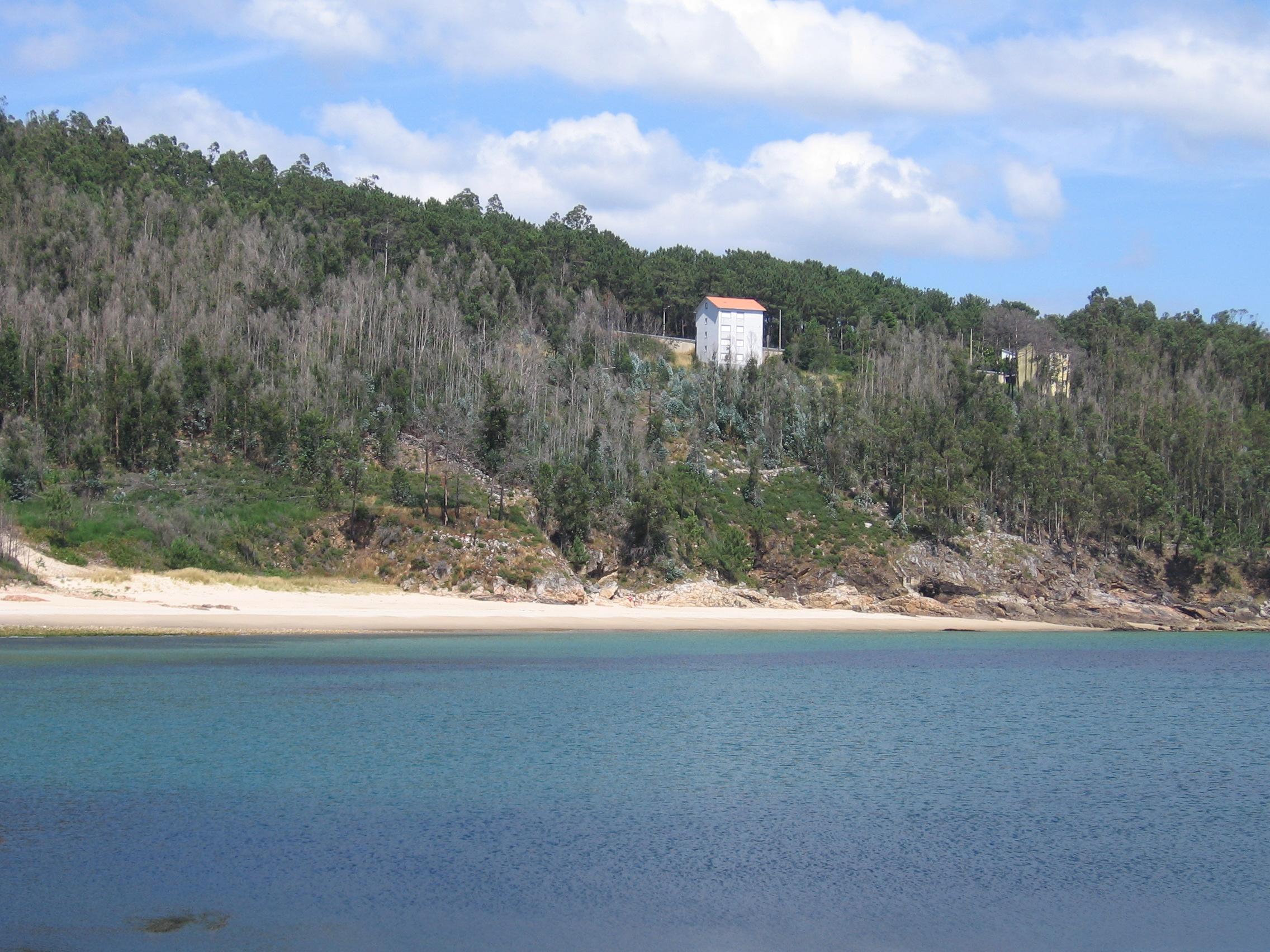 Foto playa Caneliñas. Gures