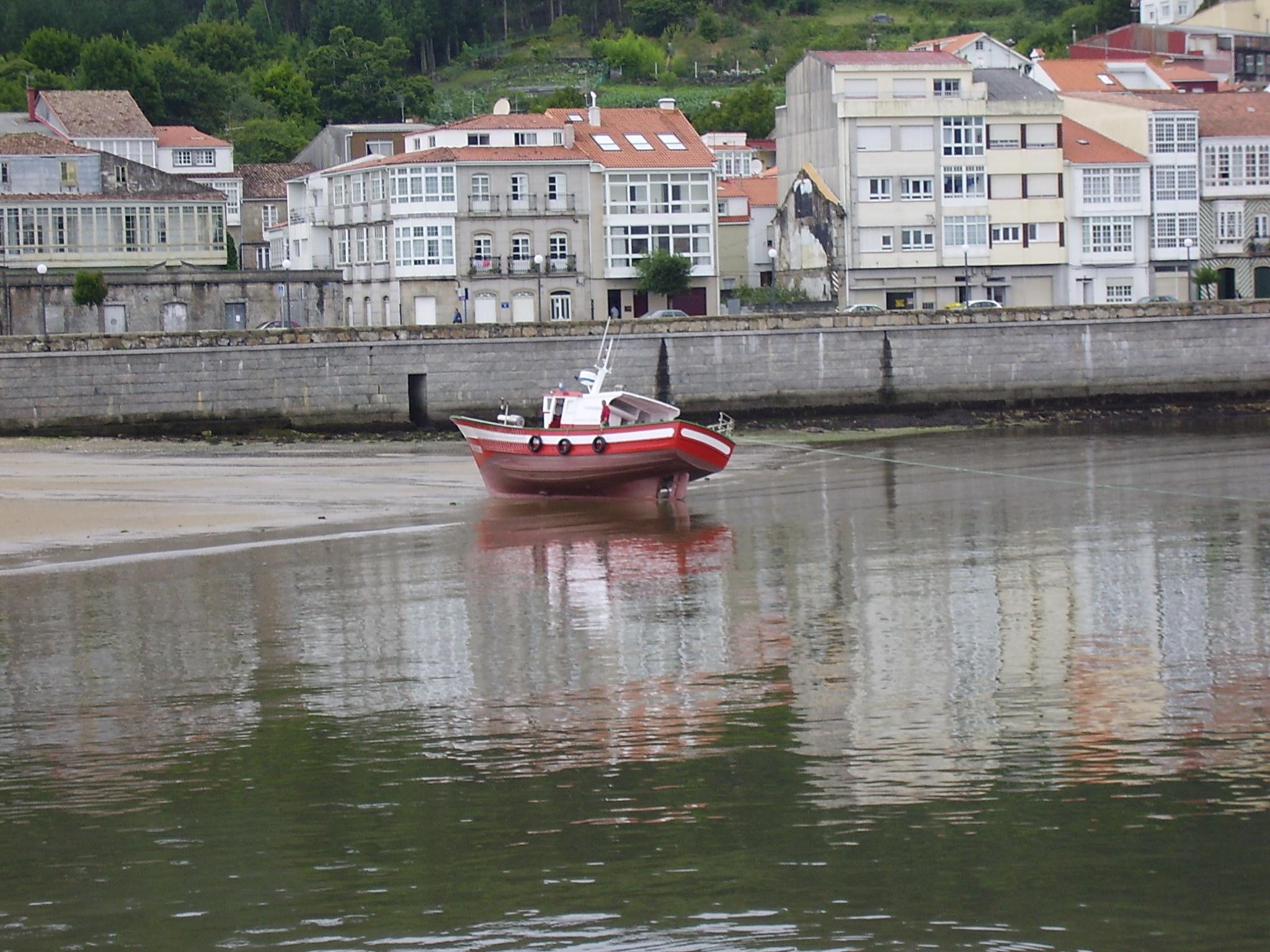 Foto playa Quenxe / Corcubión. Corcubión. A Coruña
