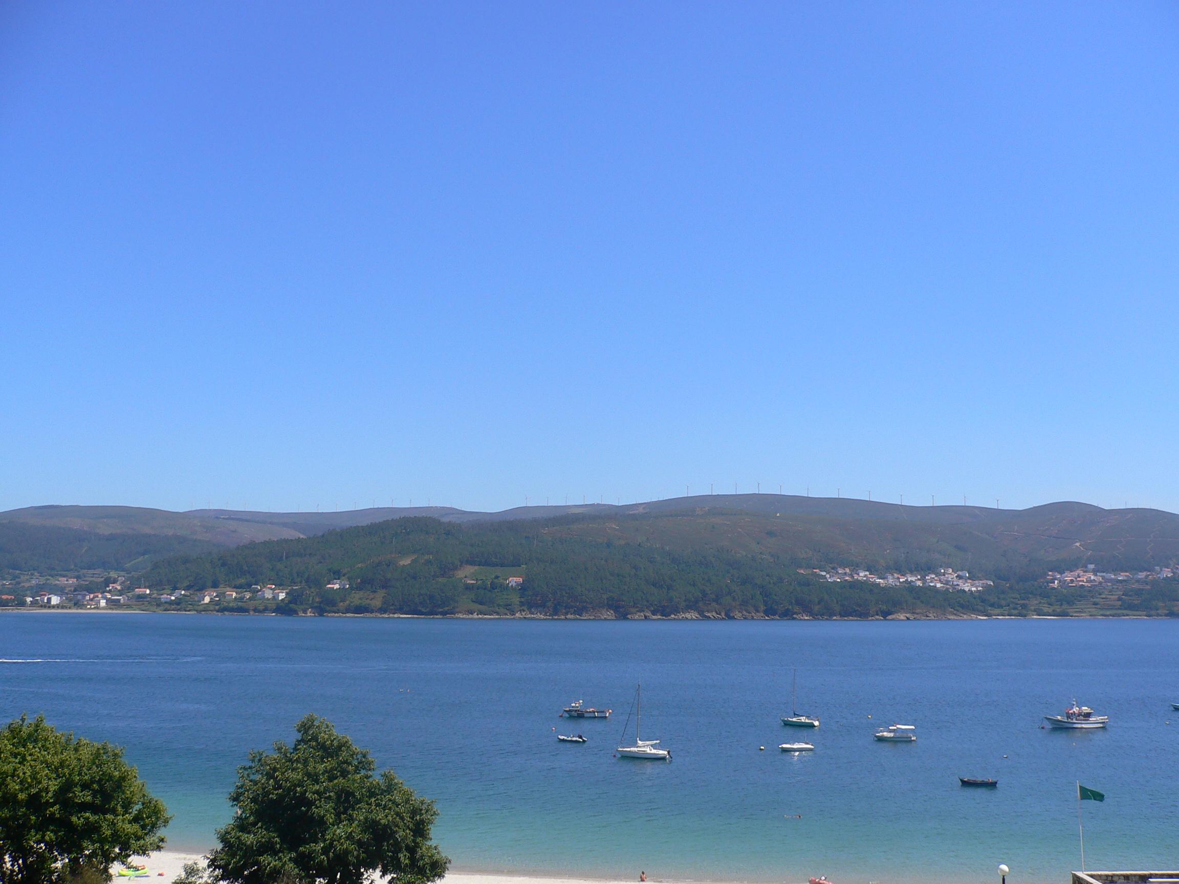 Foto playa Quenxe / Corcubión. Ría de Corcubión