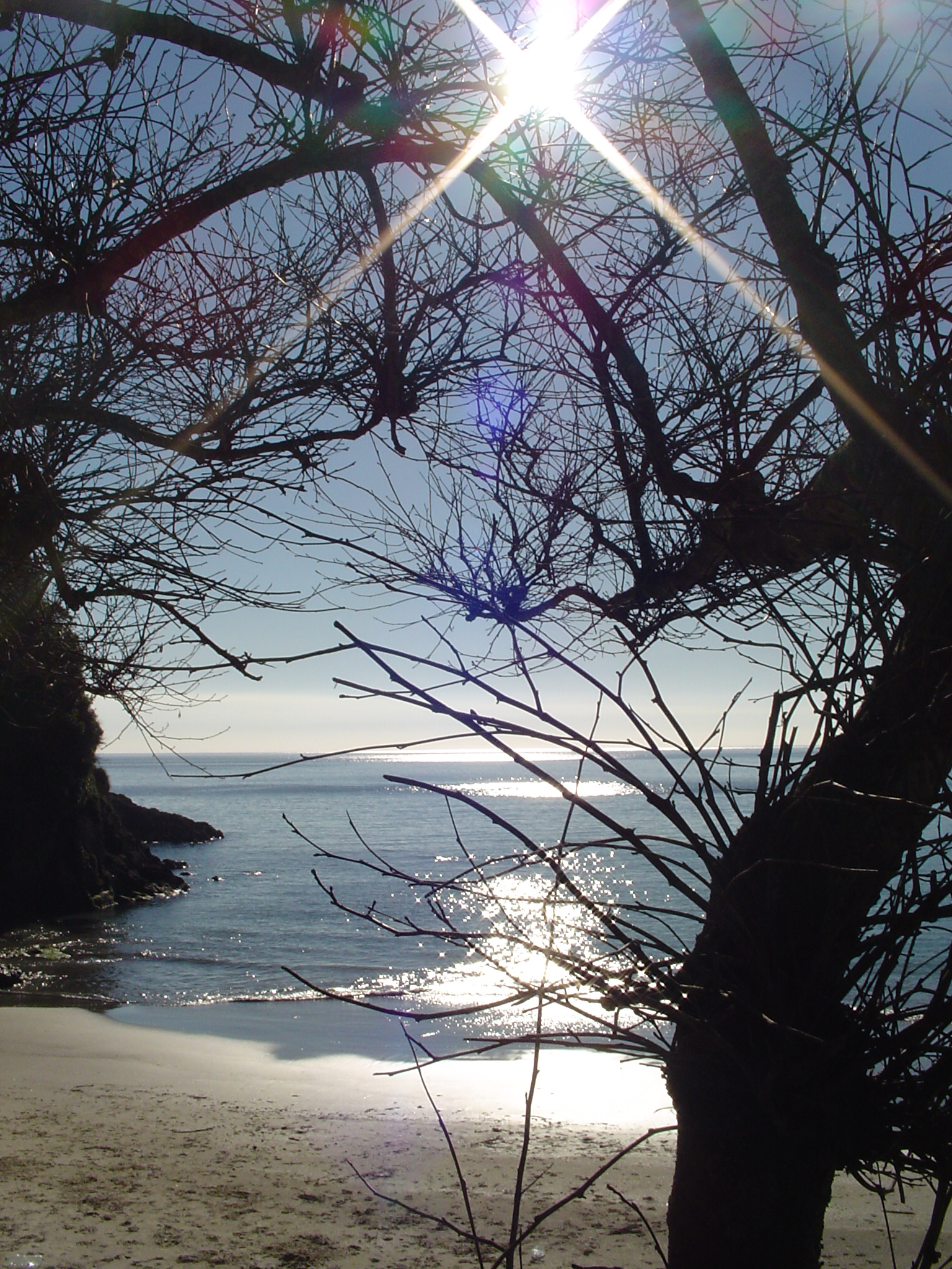 Foto playa Sardiñeiro. Ese rayito...
