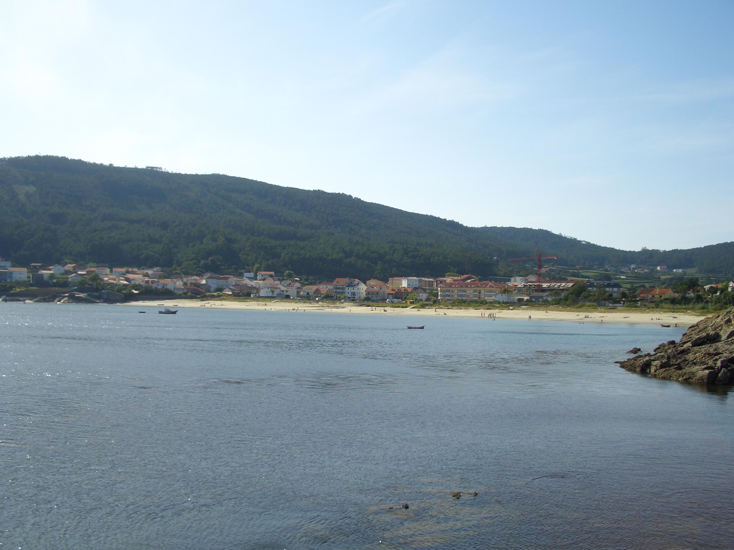 Foto playa Sardiñeiro. Sardiñeiro desde a Arnela