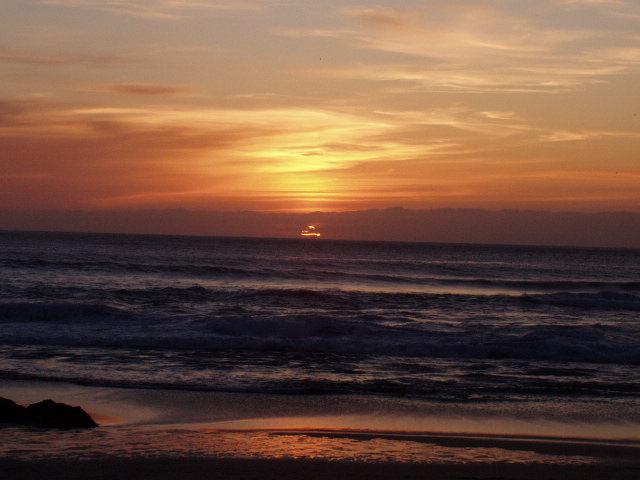 Foto playa Mar de Fora. Atardecer Fisterra - Praia da fora