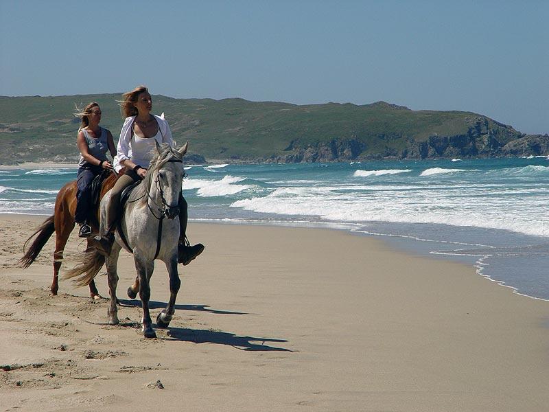 Foto playa O Rostro. Playa