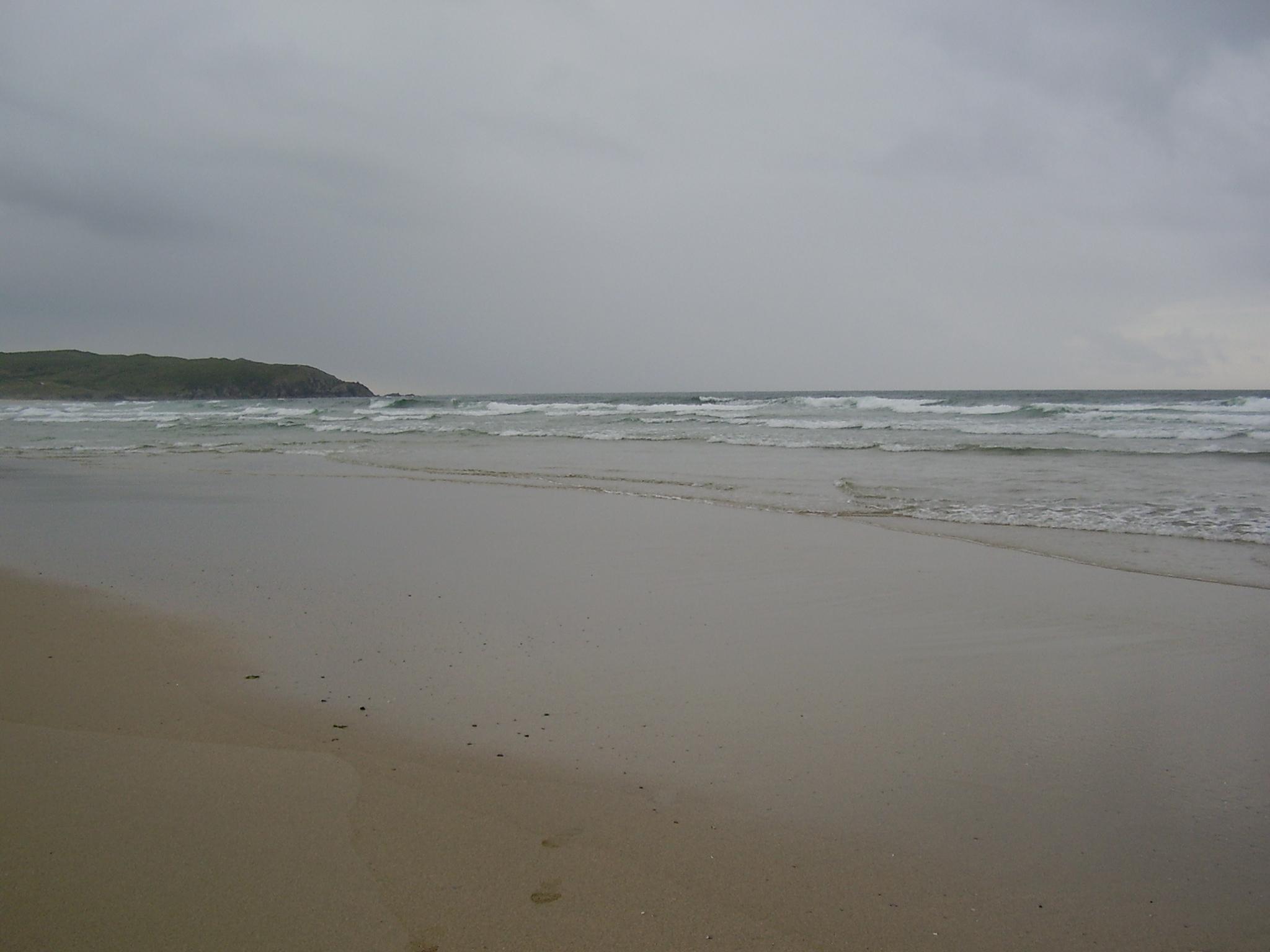 Foto playa O Rostro. Playa del Rostro. Costa da Morte