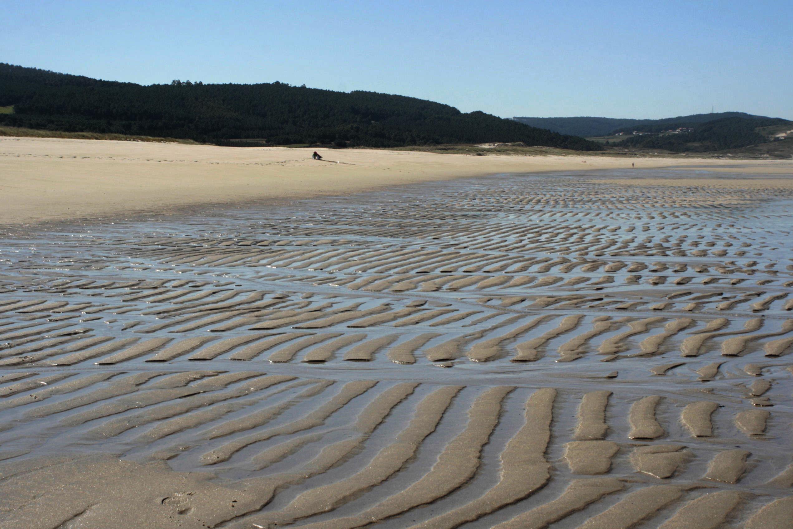 Foto playa O Rostro. Praia do Rostro