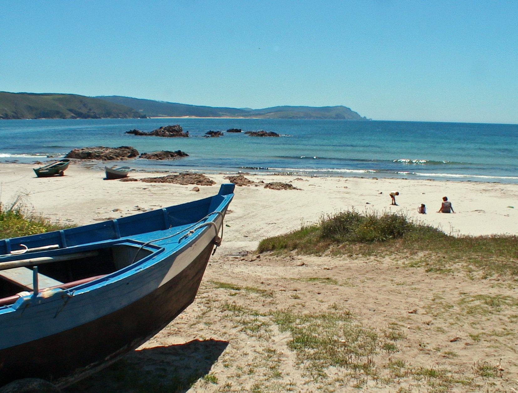 Foto playa Nemiña. praia de nemina