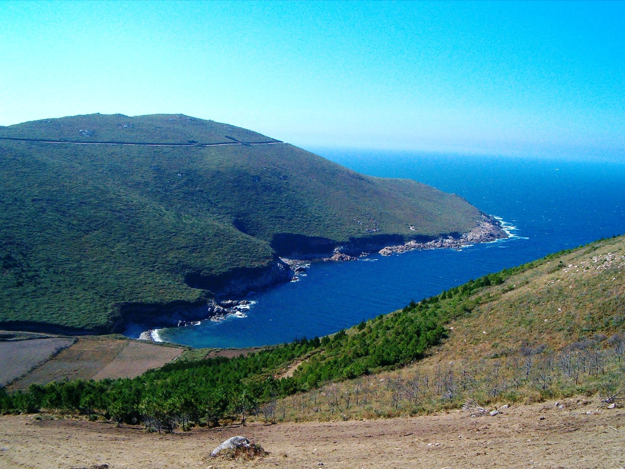 Foto playa Arnela. Punta da Buitra