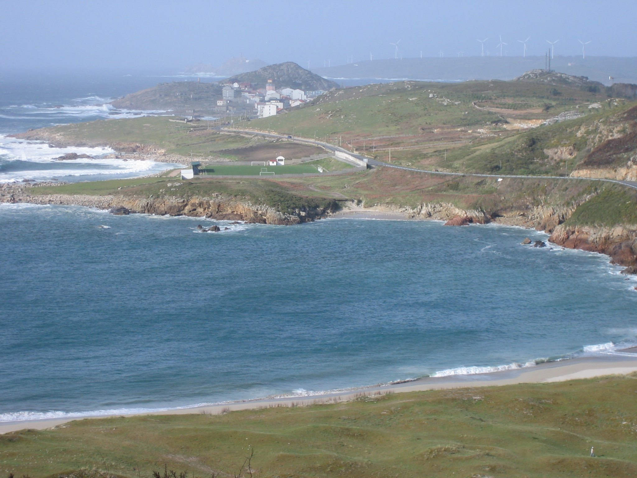 Foto playa Lourido. praia lourido-muxia