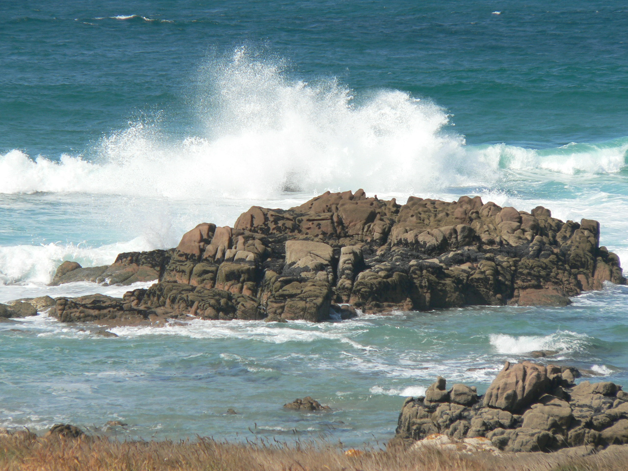 Foto playa A Cruz. Wild Ocean